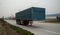 CHINA HOT-SALE 3 AXLES BOX TRAILER