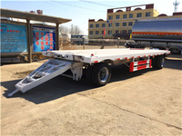 FULL FLAT BED TRAILER