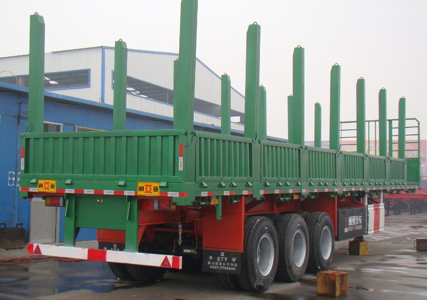TIMBER/WOODS TRANSPORT SEMI TRAILER