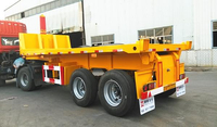 2 AXLES SKELETON DUMP TRAILER